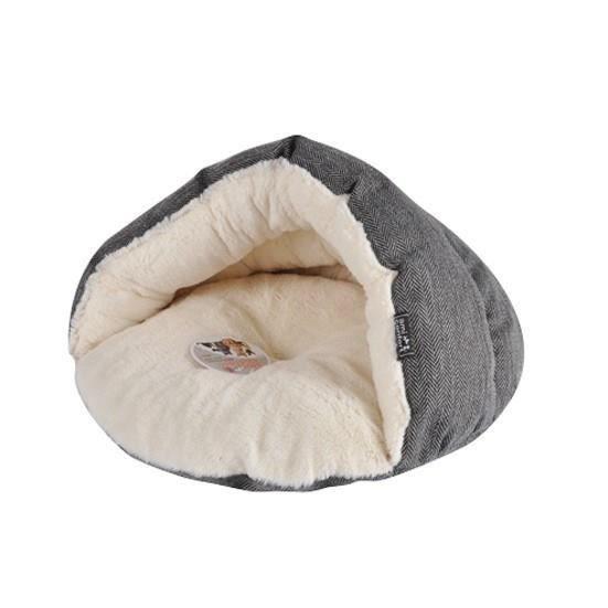 niche chausson pour chien et chat effet laine 45x22cm achat vente corbeille coussin niche. Black Bedroom Furniture Sets. Home Design Ideas