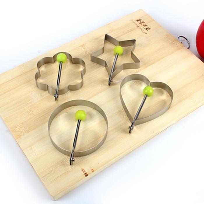 Cuisine outils de cuisine acier inoxydable egg shaper for Outil creation cuisine