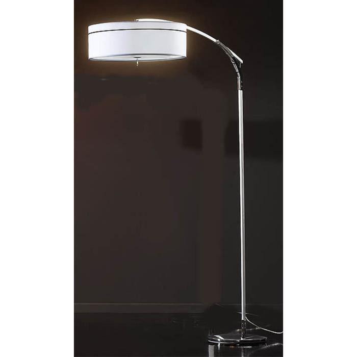 lampadaire pour salon mod le ibis blanche achat vente lampadaire pour salon mod. Black Bedroom Furniture Sets. Home Design Ideas