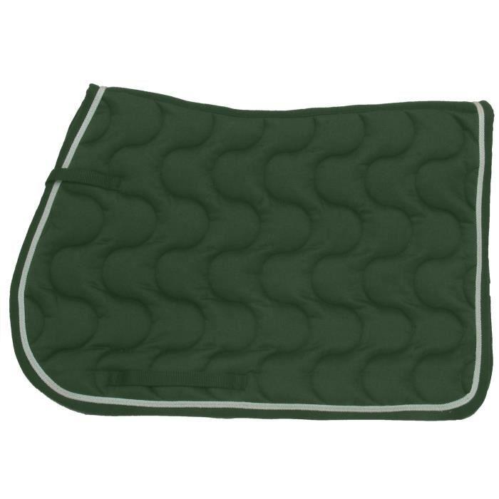 Cheval tapis de selle rect hg vert achat vente accessoire de selle cheval tapis de selle Tapis cheval vert pomme