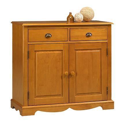 bahut buffet pin miel de style anglais 2 portes achat vente buffet bahut bahut buffet pin. Black Bedroom Furniture Sets. Home Design Ideas