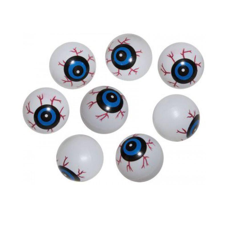 Oeil en plastique filet de 8 pi ces achat vente d co for Decoration yeux