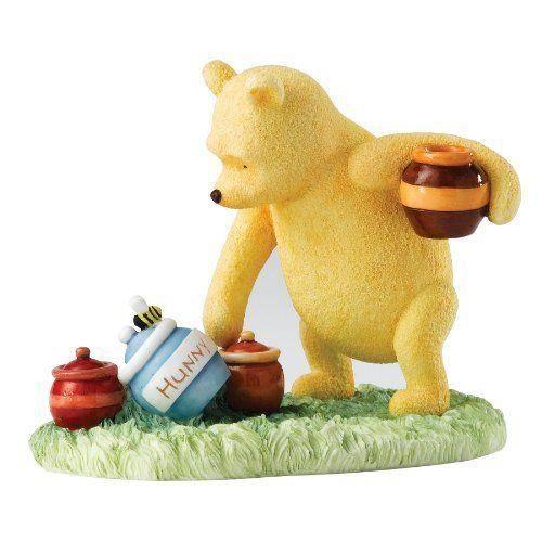 enesco figurine winnie l 39 ourson et pots de miel achat vente figurine personnage cdiscount. Black Bedroom Furniture Sets. Home Design Ideas