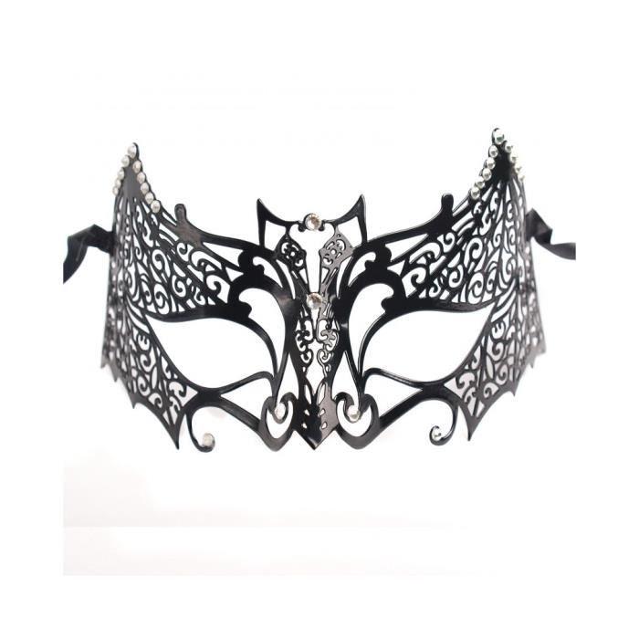 Masque chauve souris achat vente masque decor visage for Modele chauve souris