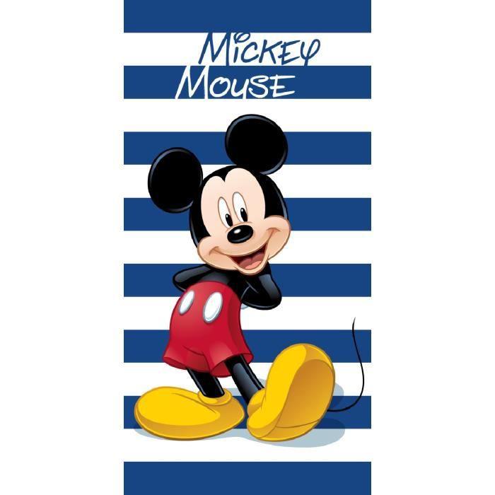 mickey mouse drap de plage serviette bain 140x70 achat. Black Bedroom Furniture Sets. Home Design Ideas
