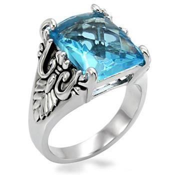 bague femme acier et pierre bleue achat vente bague anneau bague femme acier et pierre. Black Bedroom Furniture Sets. Home Design Ideas