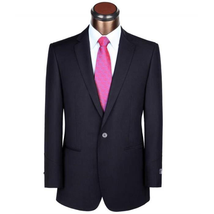 seulement veste veste costume homme bleu marine marque 1 bouton costume de mariage pour hommes. Black Bedroom Furniture Sets. Home Design Ideas