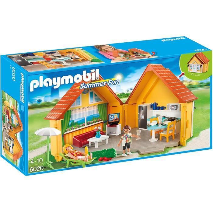 Playmobil 6020 maison de vacances achat vente univers miniature cdiscount Haus sklep internetowy