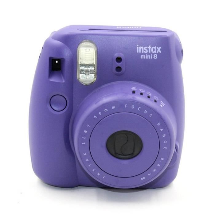 fujifilm appareil photo instantan instax mini 8 photovideopascher. Black Bedroom Furniture Sets. Home Design Ideas