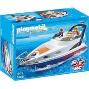 UNIVERS MINIATURE PLAYMOBIL 5205  Yacht de Luxe avec 2 personnages
