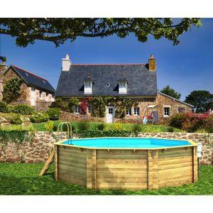 Piscine bois octogonale achat vente piscine bois for Piscine bois octogonale