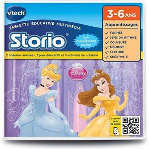 VTECH Jeu pour Storio 2 : Princesses Disney