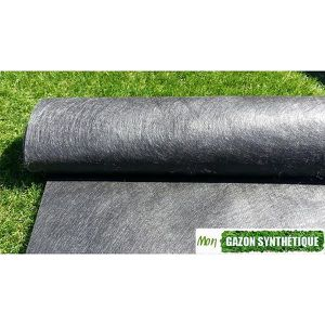 geotextile noir 120gr rouleaux de 50m2 achat vente gazon artificiel geotextile noir 120gr. Black Bedroom Furniture Sets. Home Design Ideas