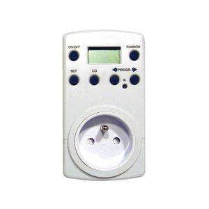 interrupteur programmable achat vente interrupteur programmable pas cher soldes cdiscount. Black Bedroom Furniture Sets. Home Design Ideas