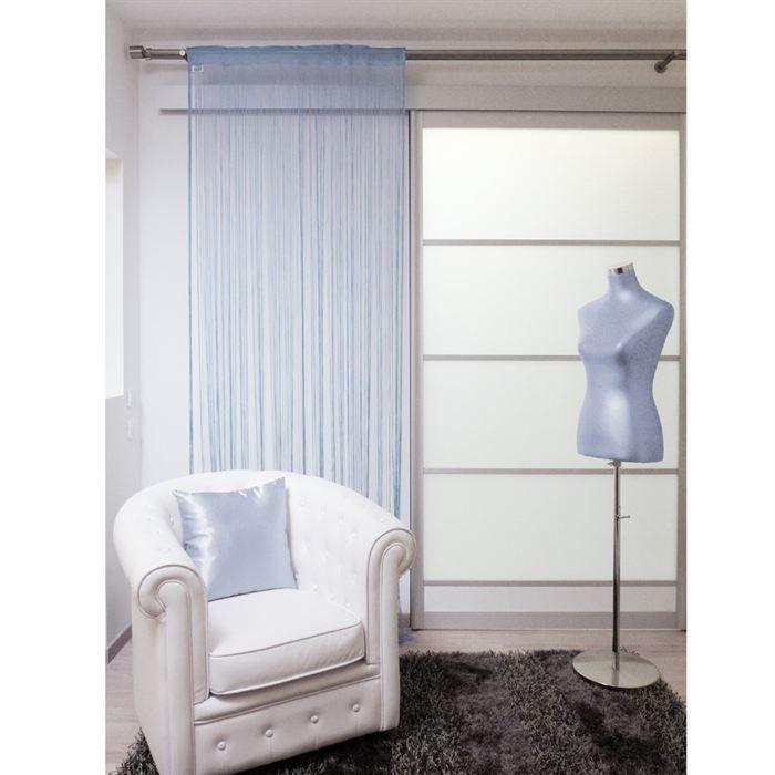 Rideau lahore 60x120 turquoise achat vente rideau for Fenetre 60x120