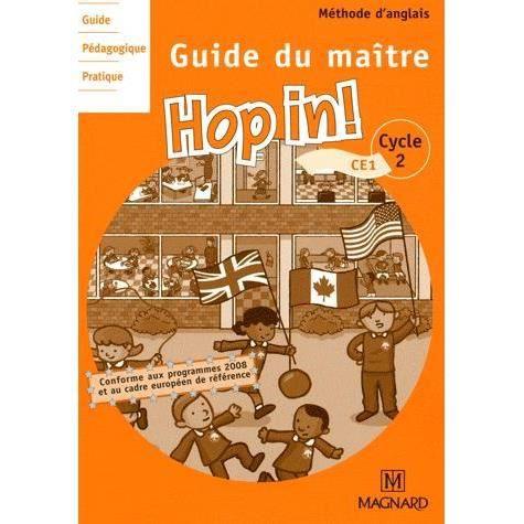 Anglais ce1 hop in achat vente livre elisabeth brikk for Maitre d oeuvre en anglais