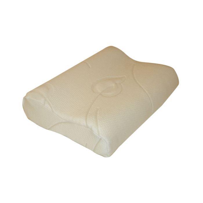 Oreiller ergonomique 50x35 kino mousse a m moir achat vente oreiller t - Mousse viscoelastique a memoire de forme ...