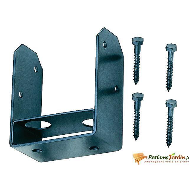 Support m tallique pour poteau d 39 ossature combi achat vente armature - Support metallique pour poteau bois ...