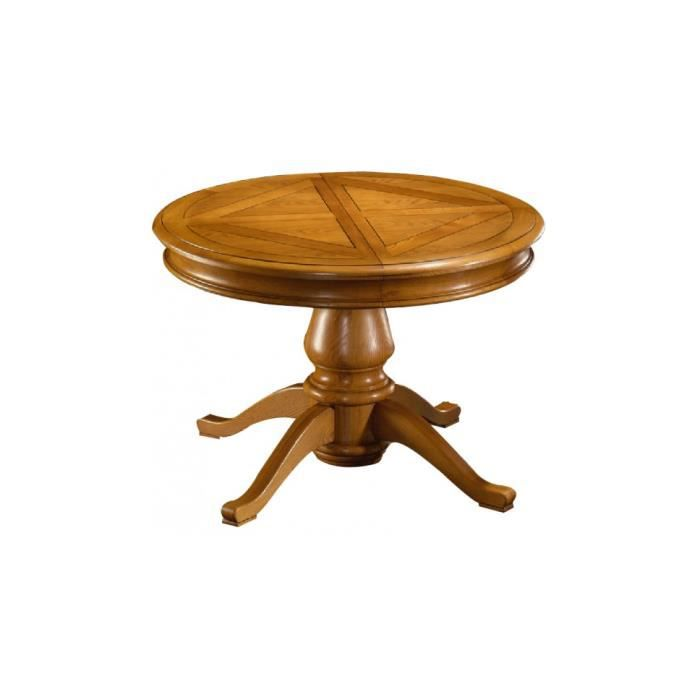 Table ronde ch ne quadripode achat vente table a for Table ronde chez but