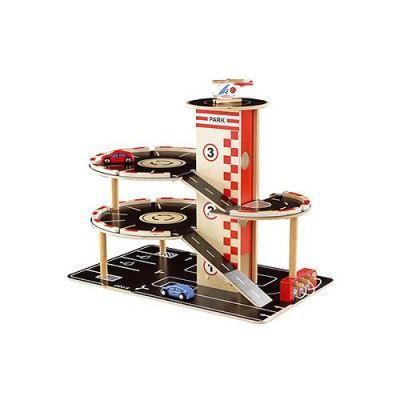 Garage en bois achat vente univers miniature garage en bois cdiscount - Garage bois discount ...