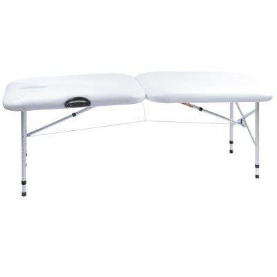 lit esthetique pliant blanc ultra leger nancy b achat vente table de massage cadeaux de. Black Bedroom Furniture Sets. Home Design Ideas
