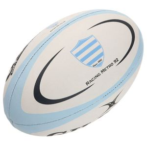 GILBERT Ballon de Rugby Replica Racing Metro T5