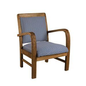 fauteuil bleu achat vente fauteuil bleu pas cher. Black Bedroom Furniture Sets. Home Design Ideas