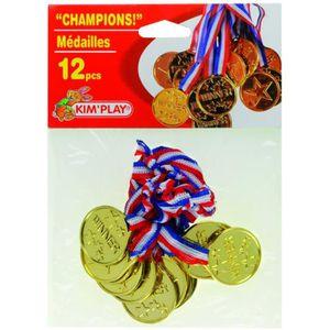 KIMPLAY Médailles x12