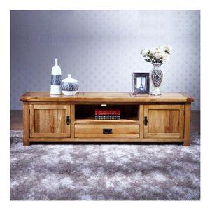 Meuble tv longueur 100 cm achat vente meuble tv for Meuble tv longueur 100