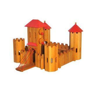 chateau fort jouet bois achat vente jeux et jouets pas. Black Bedroom Furniture Sets. Home Design Ideas
