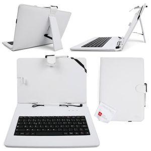 Etui clavier azerty pour tablette 10 prix pas cher for Housse tablette qilive