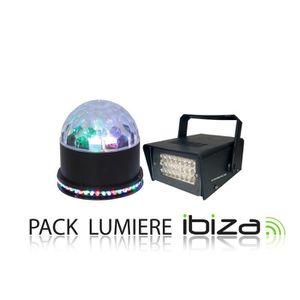 PACK LUMIÈRE Pack jeu de lumière LED fêtes, anniversaires