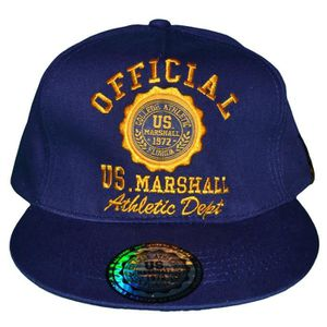 CASQUETTE Us Marshall - Casquette Snapback - Taille Réglable