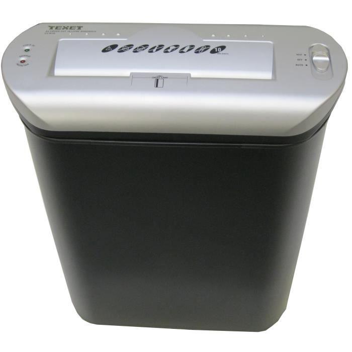 destructeur de documents coupe crois e 16l prix pas cher cdiscount. Black Bedroom Furniture Sets. Home Design Ideas