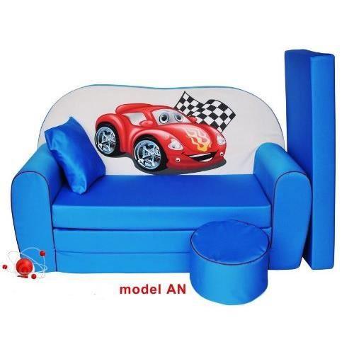 sofa enfant 2 places se transforme en un canap lit achat vente fauteuil canap b b. Black Bedroom Furniture Sets. Home Design Ideas