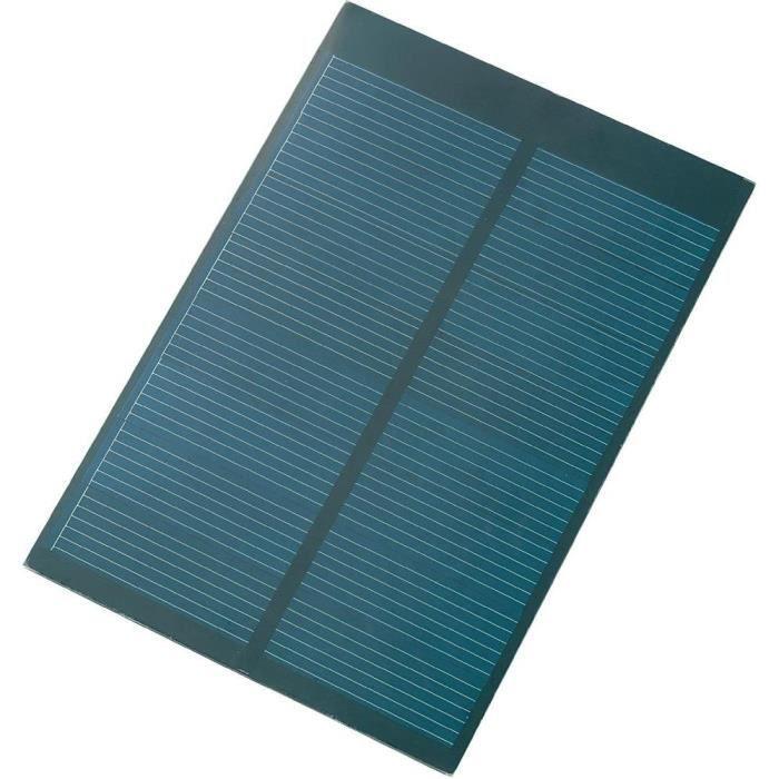 Panneau solaire polycristallin 4 v 250 ma 1 achat vente kit photovoltaique cdiscount - Panneau solaire quelle puissance ...