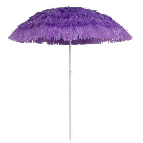 Parasol de plage santa cruz 1 8m violet achat vente parasol ombrage parasol de plage - Parasol plage carrefour ...