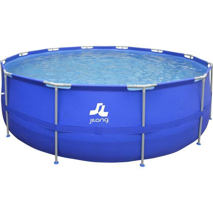 Piscine tubulaire 450 x 122 cm achat vente piscine for Piscina fuori terra brico bravo