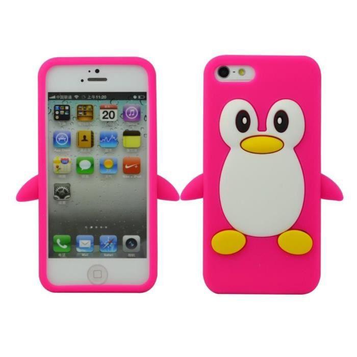 coque iphone 4 pingouin