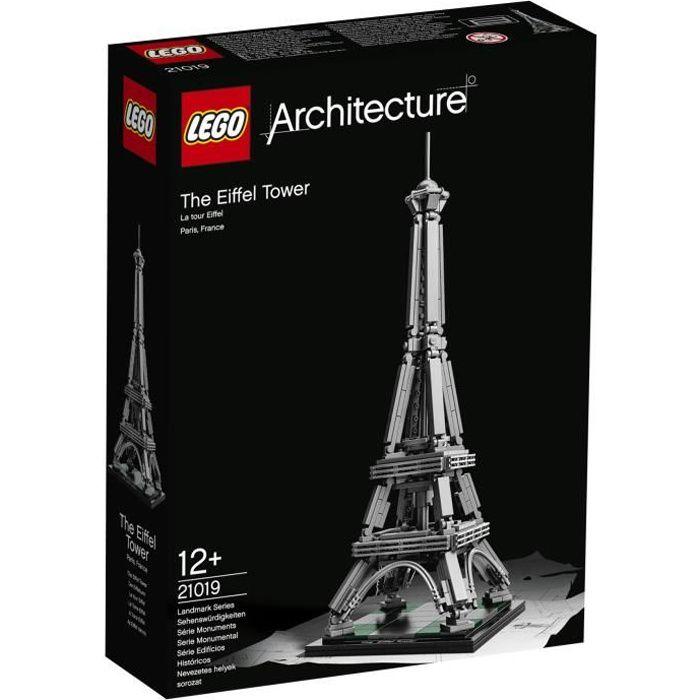Lego architecture 21019 la tour eiffel achat vente for R architecture tours