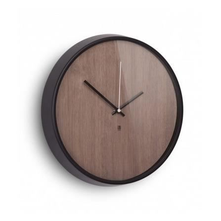 horloge murale design en bois madera umbra achat. Black Bedroom Furniture Sets. Home Design Ideas
