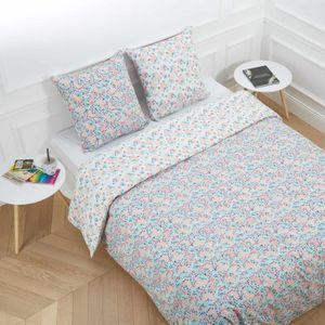 parure de lit 200 160 achat vente parure de lit 200 160 pas cher les soldes sur cdiscount. Black Bedroom Furniture Sets. Home Design Ideas