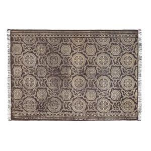TAPIS PureDay Tapis avec motifs imprimés, coton, gris fo