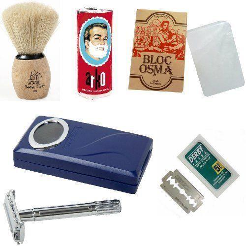 shaving factory kit complet de rasage 1 rasoi achat vente savon syndets shaving factory. Black Bedroom Furniture Sets. Home Design Ideas