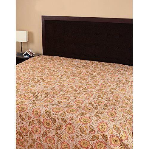 Draps de lit style traditionnel couvre lit imprim - Ensemble draps lit double ...