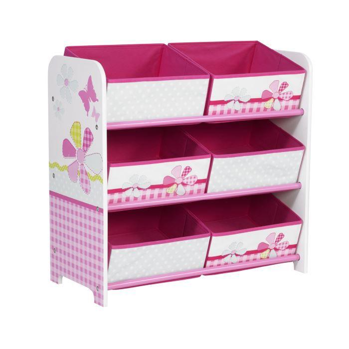 Module de rangement enfant lili butterfly rose achat for Rangement petite chambre