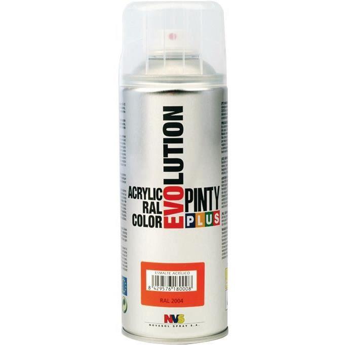 novasol spray bombe de peinture rouge ral3005 brillant pinty 592 achat vente bombe de. Black Bedroom Furniture Sets. Home Design Ideas