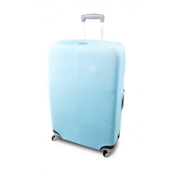 Housse de protection pour valise turquoise turquoise for Housse protection valise