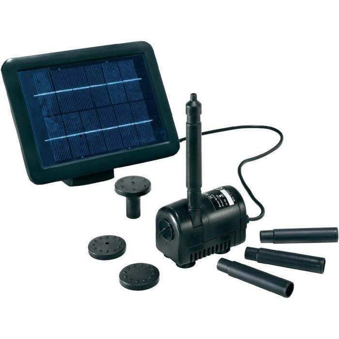 Syst me de pompe solaire esotec achat vente fontaine for Pompe solaire fontaine