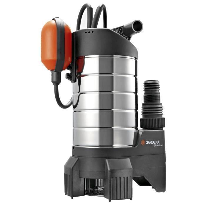 gardena pompe d 39 vacuation pour eaux charg es achat vente pompe arrosage pompe d 39 vacuation. Black Bedroom Furniture Sets. Home Design Ideas